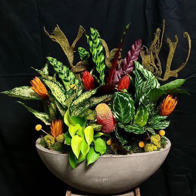 Copy of Mixed foliage bowl